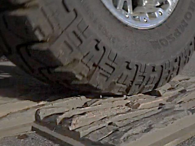 jeep tire genstone structural test