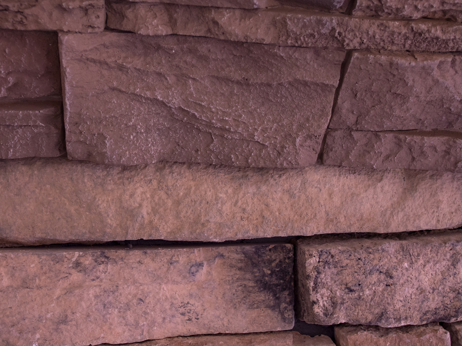 Stone Veneer is Cast from Real Stone