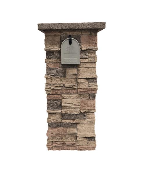 Desert Sunrise Stacked Stone Column