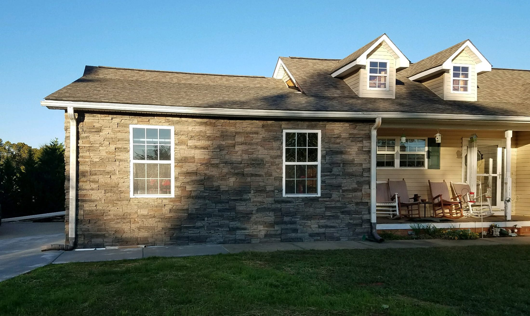 Exterior Home Faux Stone Wall Panels By Lance Genstone
