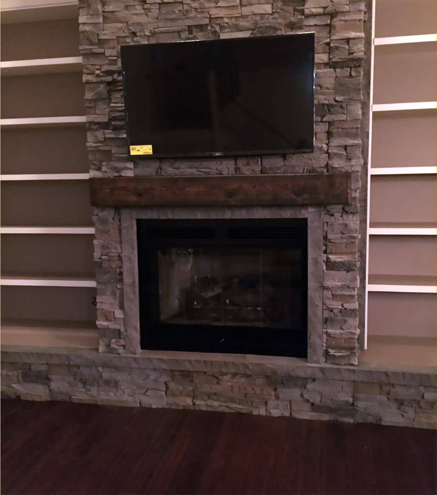 Faux Stone Fireplace Surround Finishes By Jeff Genstone