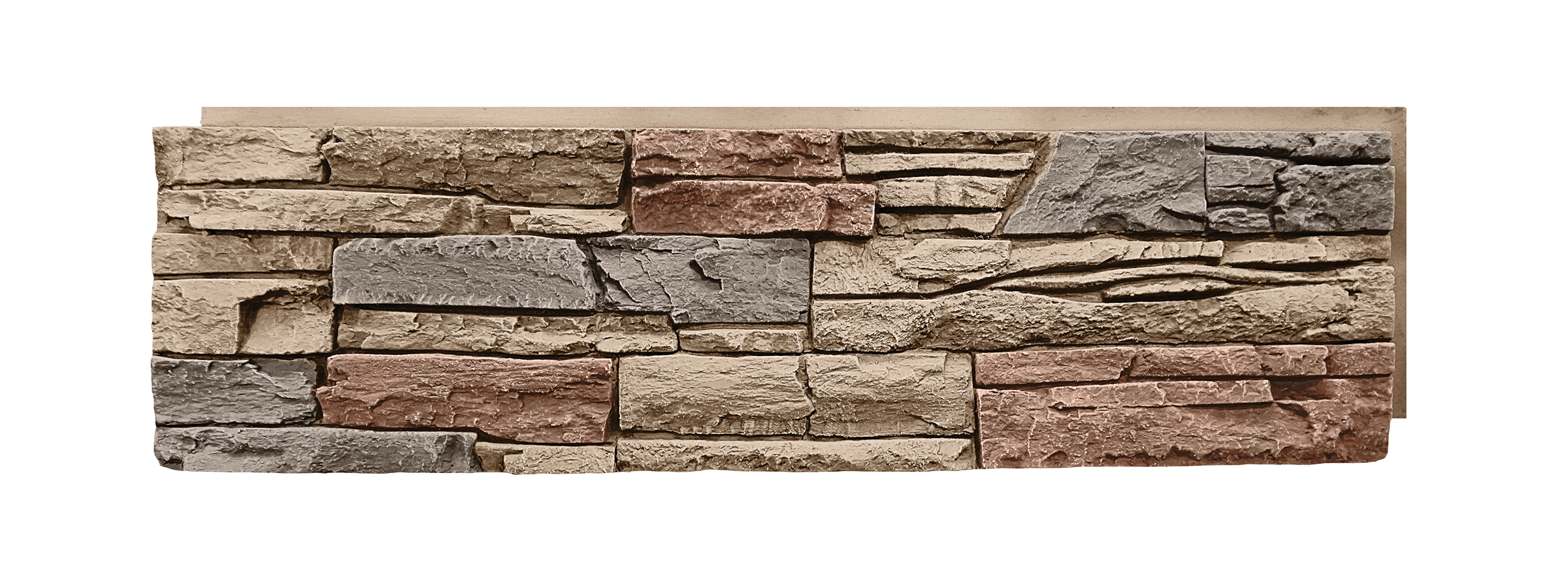 GenStone Desert Sunrise Stacked Stone Panel