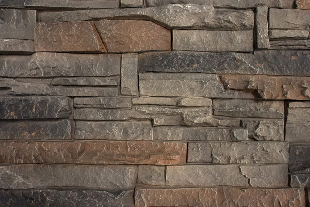 Kenai Stacked Faux Stone Panels
