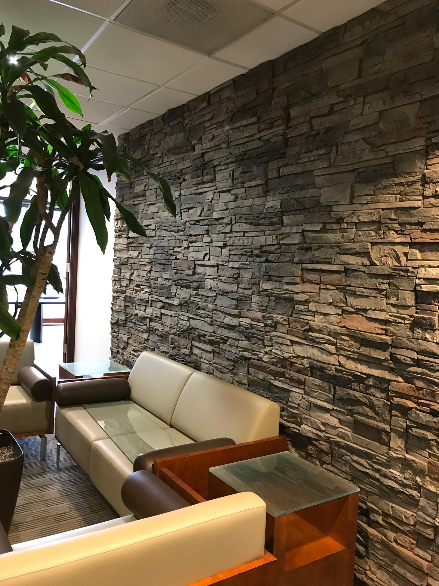 Easy Accent Wall Ideas Allan S Stone Accent Wall Genstone