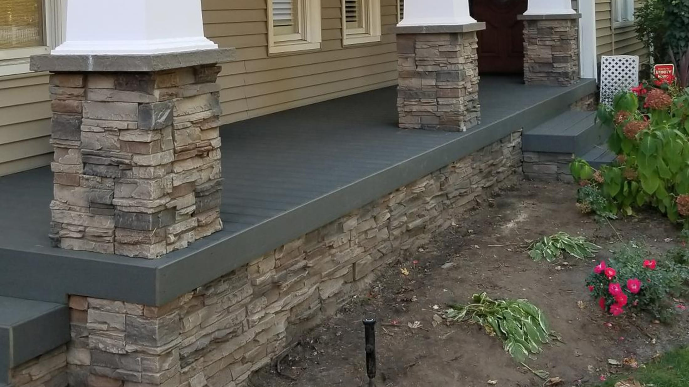 Exterior Home Design Rock Siding By Leif Genstone
