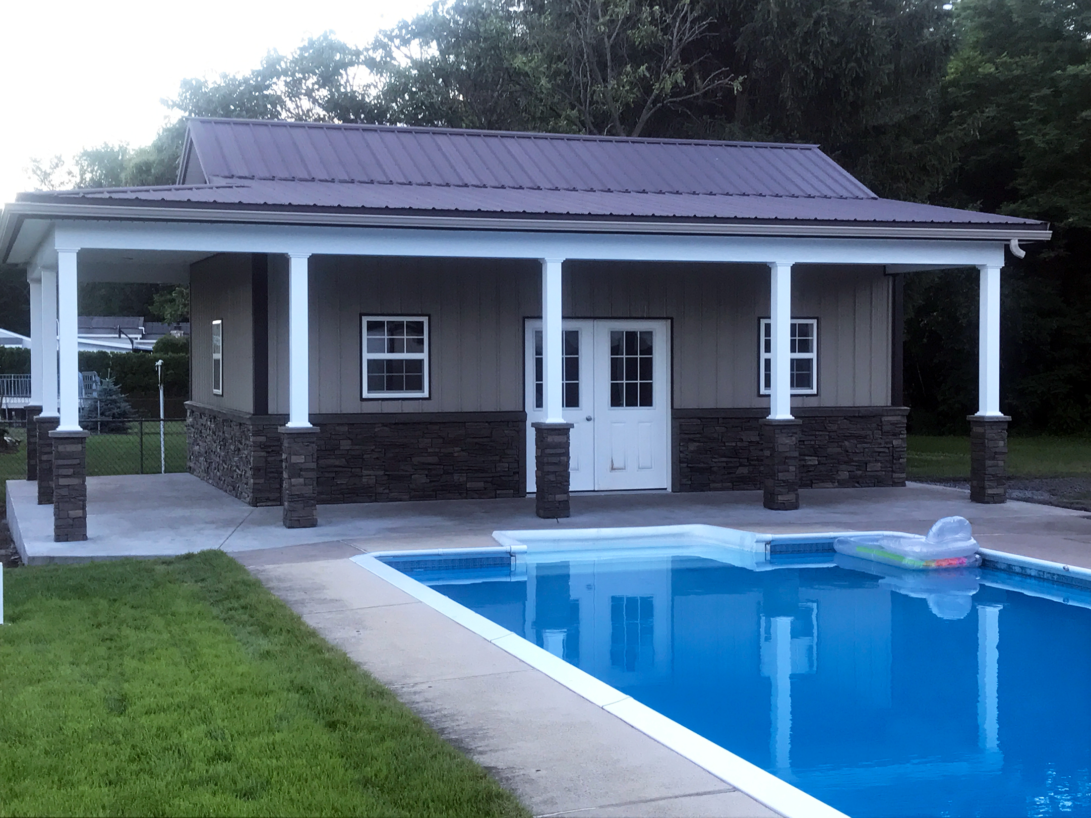 Diy Small Pool House Design Ideas By Shawn Genstone