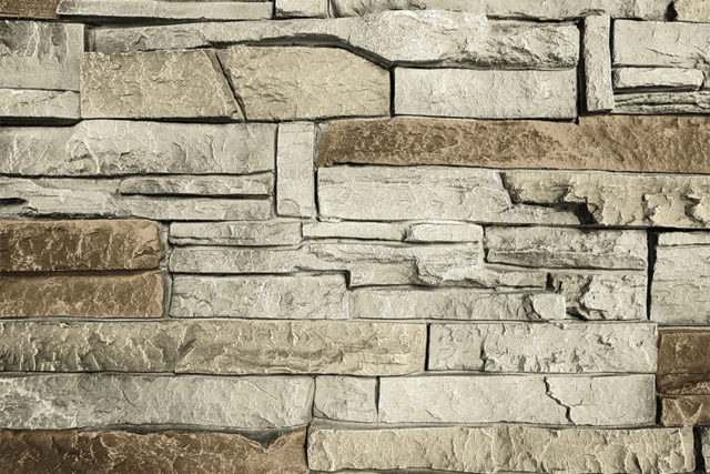 Vanilla Bean Stacked Stone