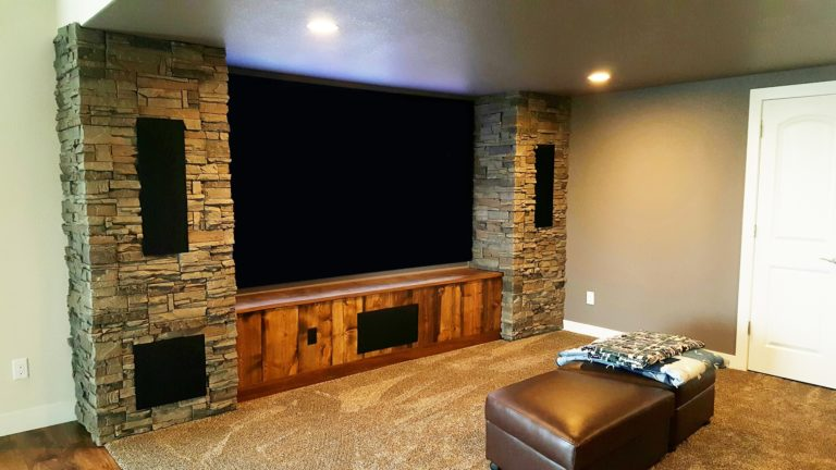 Entertainment Center Archives Genstone Faux Stone