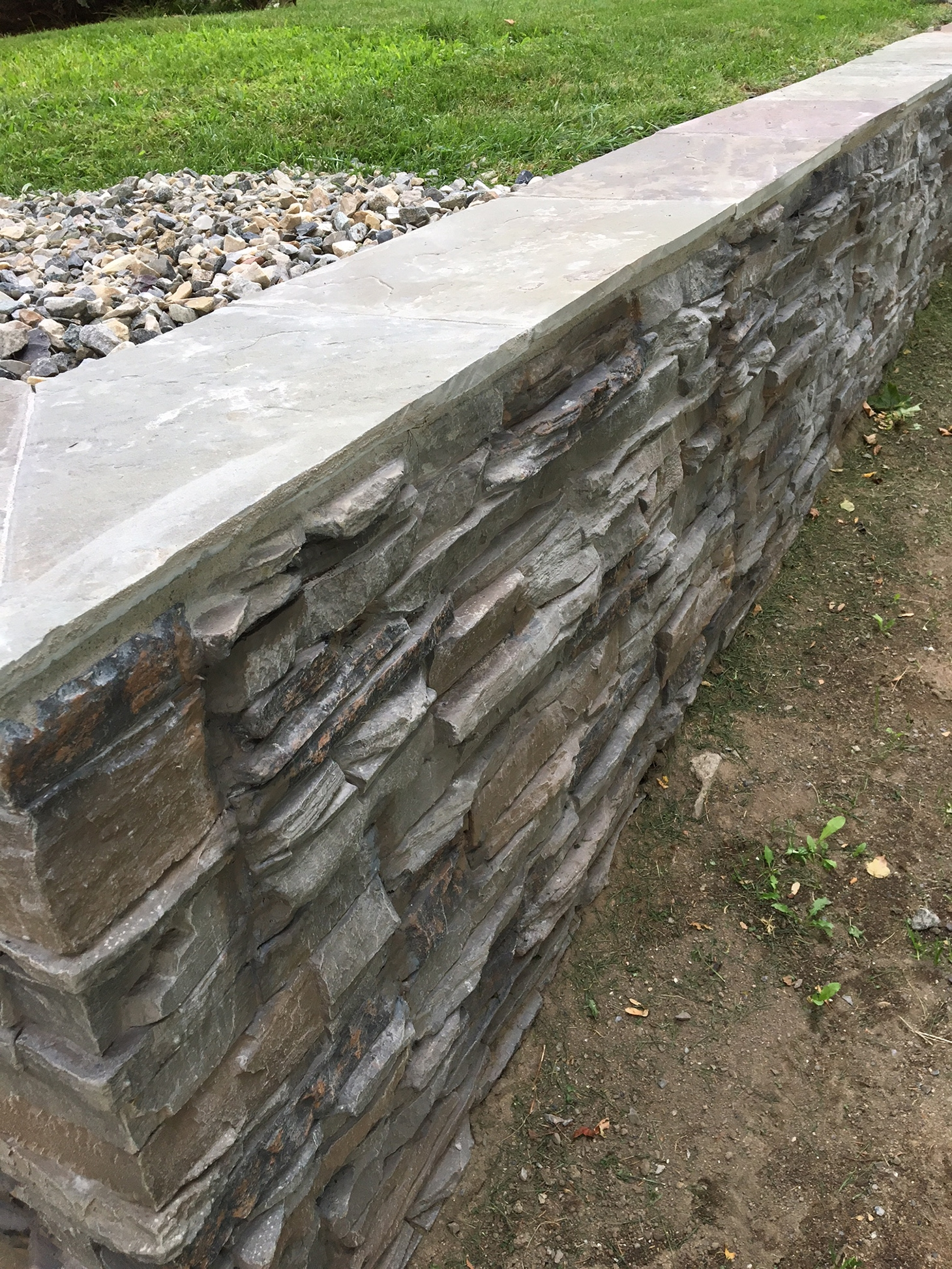 Rock Retaining Wall Cheapest Way To Build A Retaining