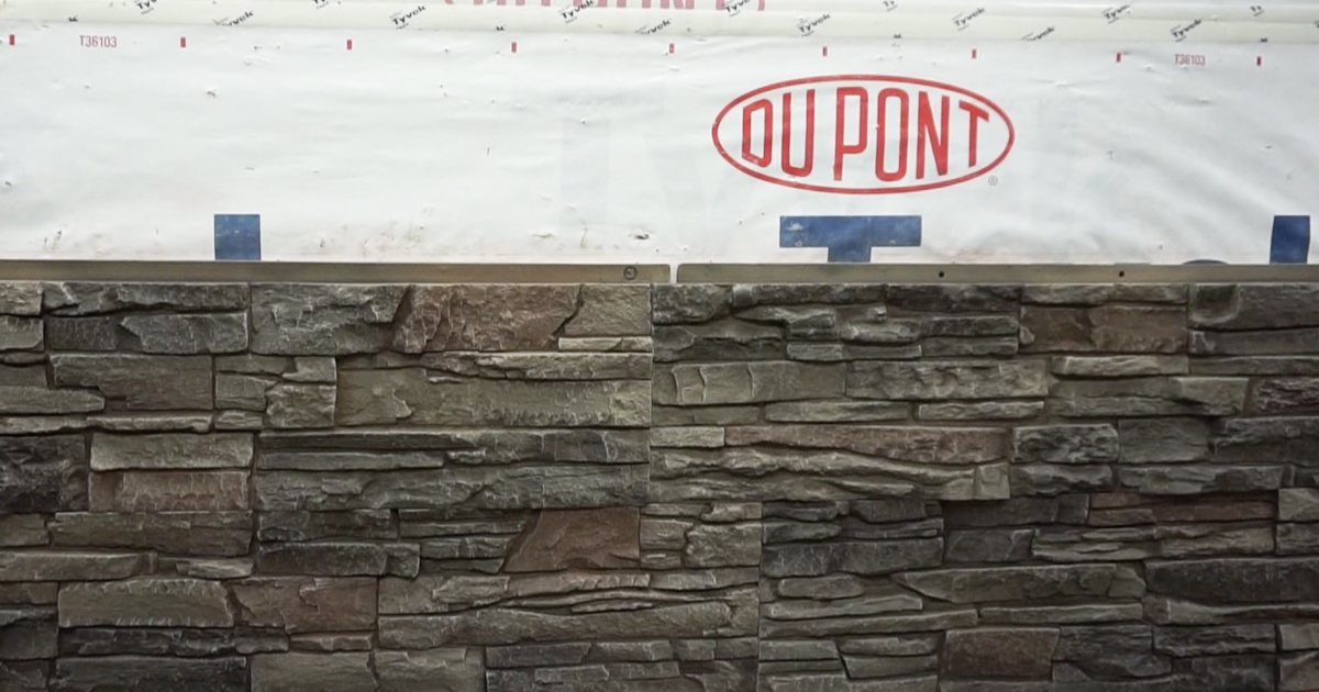 Installing Faux Stone Tip 10