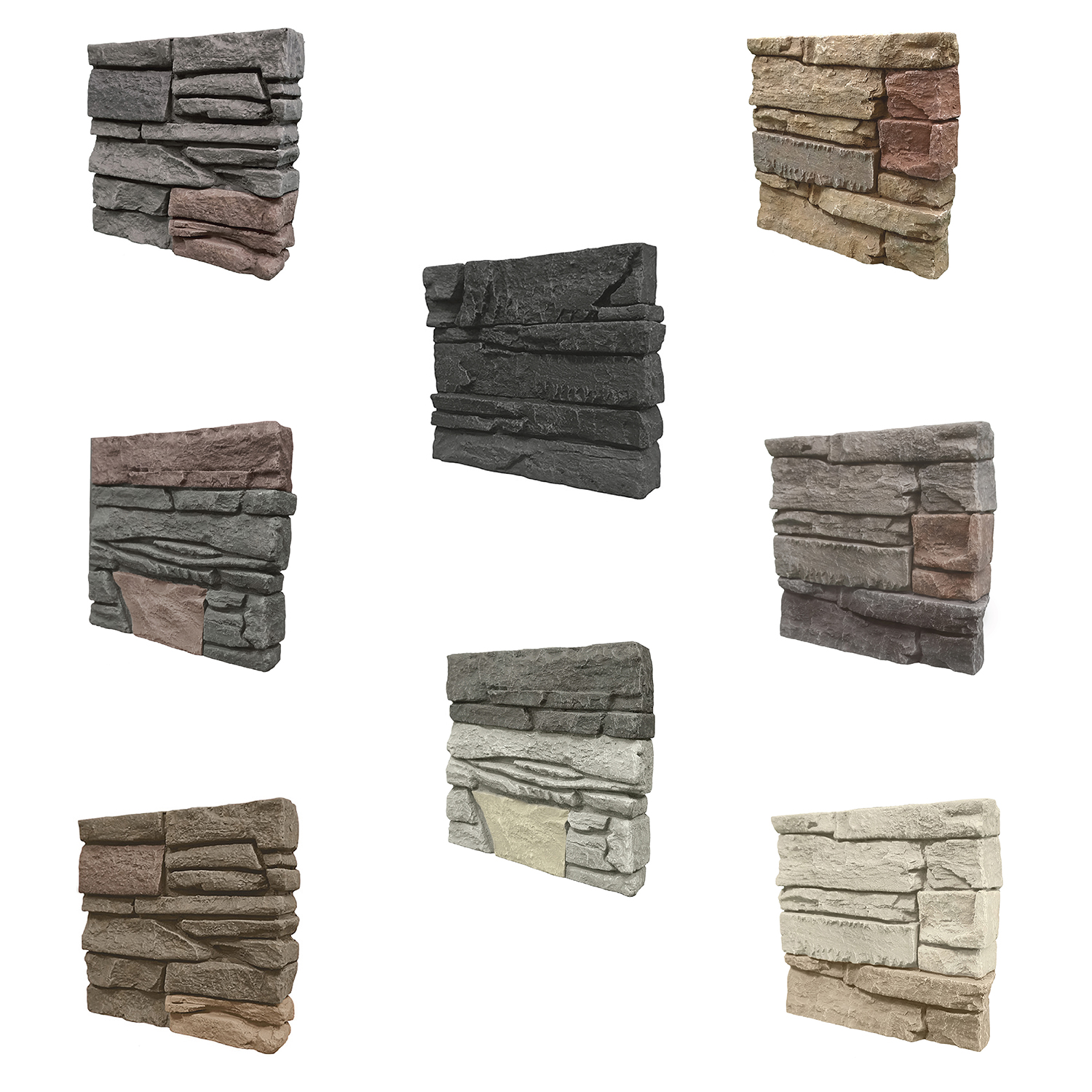 GenStone Stacked Stone Samples